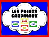 French Cardinal Directions Posters - Primary Colors