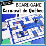 French - Carnaval de Québec - un jeu - a Board Game