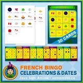 French Celebrations & Dates • Bingo Game • Circus Theme