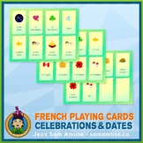 French Celebrations & Dates Playing Cards • Card Game • Ab