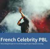French Celebrity Description Project - Novice PBL