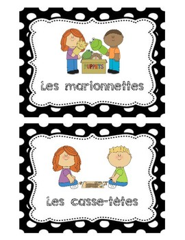 French Centre Labels