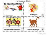 French Chinese New Year 2016 - 2 Booklets Le Nouvel An Chinois