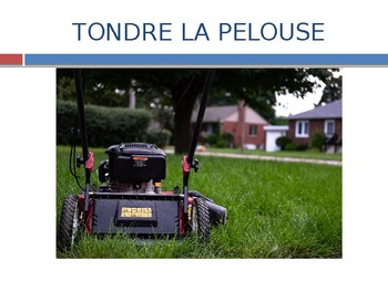 French Chores Powerpoint