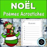 French Christmas Acrostic Poems   Poème Acrostiche de Noel Écriture Créative