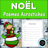 French Christmas Acrostic Poems | Poème Acrostiche de Noel