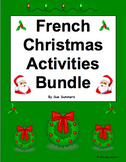 French Christmas Bundle - Noël - Worksheets, Vocabulary, Word Wall