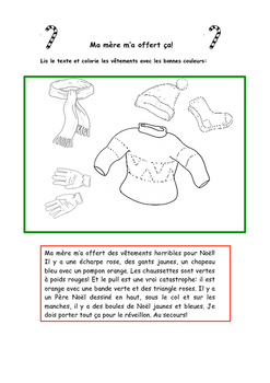 French Christmas Activities Dessine Noël