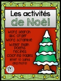 French Christmas Activities (Joyeux Noël)