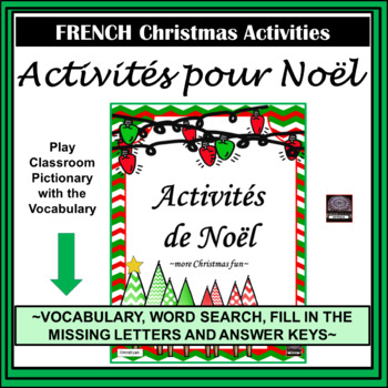 French Christmas Activities - Noël