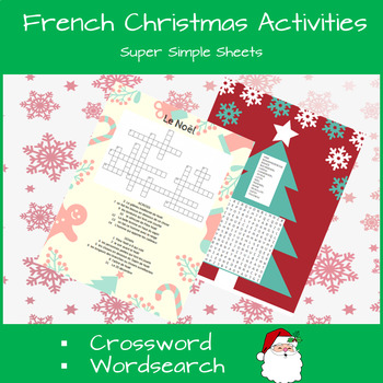 French Christmas Activity Bundle