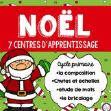 French Christmas Activity Centres (Les centres d'apprentissage de Noël)