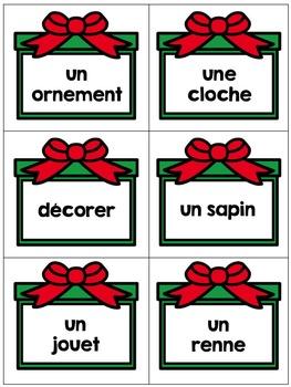 French Christmas Activity Centres (Les centres d'apprentissage de Noël)
