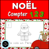 French Christmas Activity Counting 1-10 | Activité de Noël