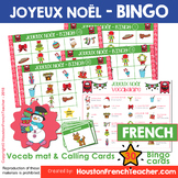 French Christmas Activity - French Christmas Bingo - Bingo