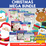 French Christmas Activity - Noel Activity- MEGA BUNDLE (CR