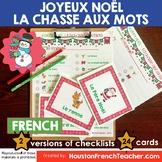 French Christmas Activity - Noel Activity - Scavenger Hunt