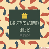 French Christmas Activity Sheets