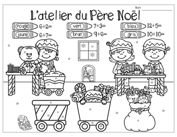 French Christmas Add the Room: Noël