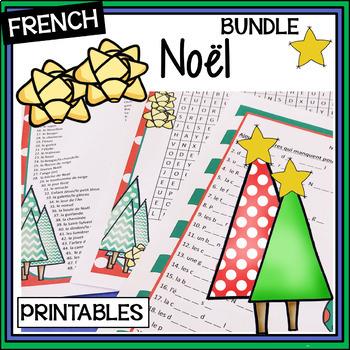 French Christmas BUNDLE – Un paquet de Noël - Activities