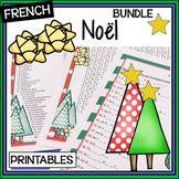 French Christmas/Noël BUNDLE–Un paquet-LOTO-matching-ginge