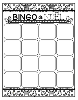 French Christmas ❅ Bingo {Create Your Own Card}