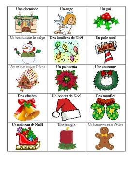 Christmas In French.French Christmas Bingo Bingo De Noel