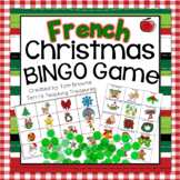 French Christmas Bingo - Bingo de Noel