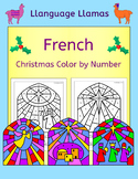 French Christmas - Noel - Color by Number