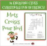 French Christmas Crossword Puzzles - Mots Croisés pour Noël