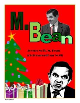 Mr Bean Christmas.French Christmas Descriptive Narrative Mr Bean
