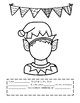 French Christmas Emotions Reading and Writing Activity