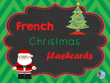 French Christmas Flashcards (editable) – Cartes-images de Noël (éditables)