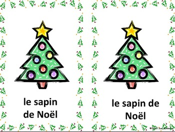 French Christmas Flashcards and PowerPoint Presentation 66 Slides