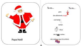 French Christmas Game with Cards