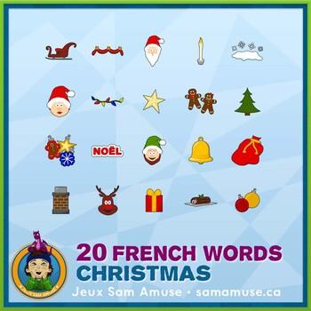 French Christmas Horizontal Posters