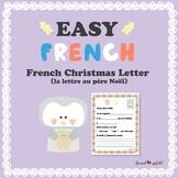 French Christmas Letter - Lettre au père Noël