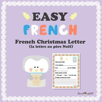 Site Lettre Au Pere Noel.French Christmas Letter Lettre Au Pere Noel