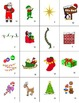 French Christmas-Noël Vocabulary Mini Student Cards and Fun Activities