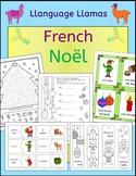 French Christmas - Noel - fun activities, worksheets, word wall, bingo, cards
