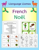French Christmas - Noel - fun activities, worksheets, word
