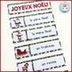 French Christmas Word Wall - Noël