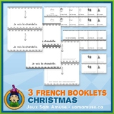 French Christmas Noël • 3 Reading & Writing Booklets