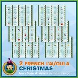French Christmas Noël J'ai/Qui a Games • 2 decks of cards