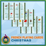 French Christmas Noël Playing Cards • Card Game