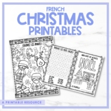 French Christmas - Noël Printables & Activity Booklet