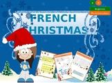 French Christmas - Noël en francais interactive activities