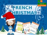 French Christmas - Noël en francais lesson and activities