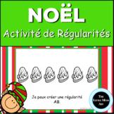 French Christmas Patterns Book : Les Régularités de Noël en Français