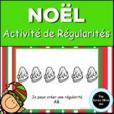 French Christmas Patterns Book : Les Régularités de Noël e